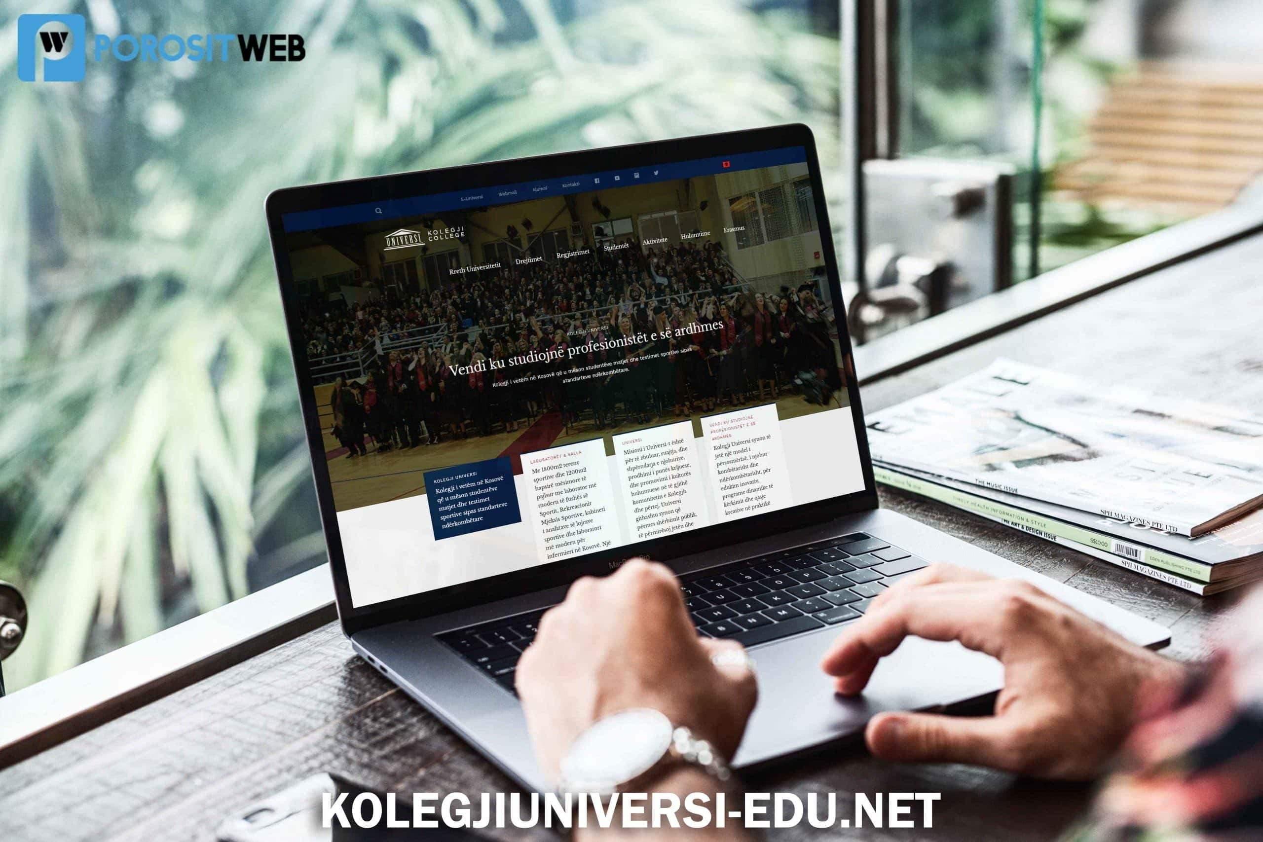 webfaqe per universitet